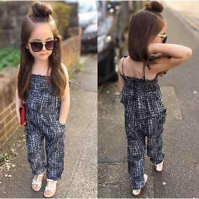 Fashion Backless Overall Jumpsuit for Girls [2-7 Years Sizes Available], Girl Rompers - Peeksify.com