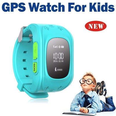 HQ Anti-Lost GPS Tracker SOS Emergency GSM SmartWatch for Kids [iOS & Android Compatible] - Peeksify.com