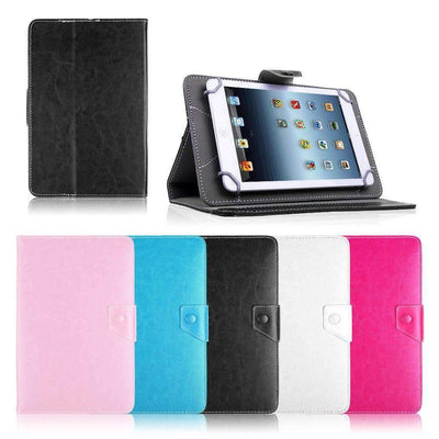 "7"" Universal PU Leather Stand Case Cover for Tablet PC, Universal Cases & Covers - Peeksify.com"