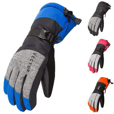 Unisex Windproof Waterproof Outdoors Winter Ski Gloves - Peeksify.com