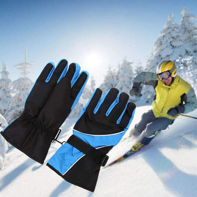 Unisex Thermal Waterproof Winter Outdoors Ski Gloves - Peeksify.com
