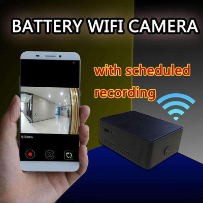 Mini Battery Portable Camera P2P Wireless WiFi Video Recorder with APP Remote View [iOS & Android] - Peeksify.com