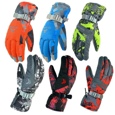 Winter Waterproof Anti-Cold Outdoor Sports Unisex Ski Gloves - Peeksify.com