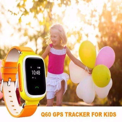 Q60 GPS Tracker Smart Kid Safe SOS Call Location Finder SmartWatch [English Version] - Peeksify.com