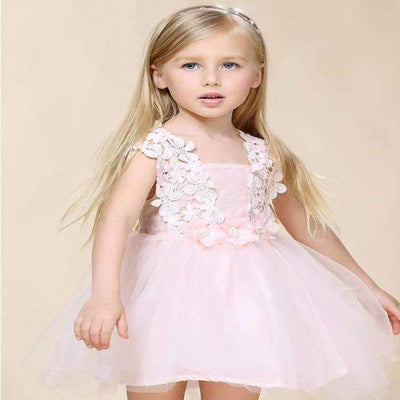 Summer Floral Casual Tutu Dress for Girls [6 Colors Available] - Peeksify.com
