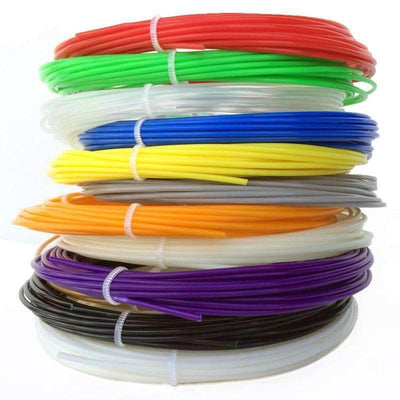 20PCS/Lot PLA 3D Plastic Filament 5M-1.75mm for 3D Printer or 3D Pen - Peeksify.com