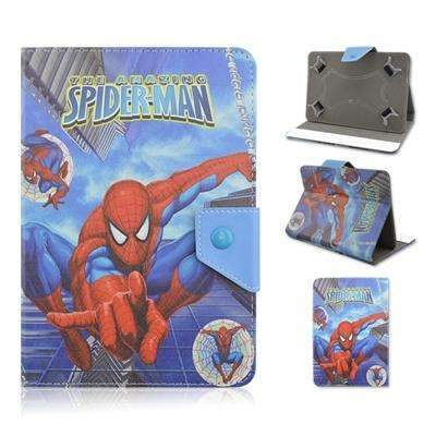 "7.0"" Spiderman Universal PU Leather Stand Cover Case for Tablet PC, Universal Cases & Covers - Peeksify.com"