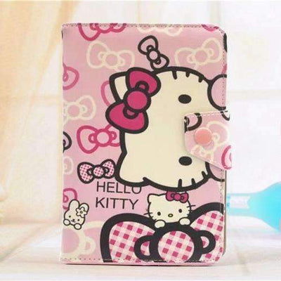 "7.0"" Hello Kitty Universal PU Leather Stand Cover Case for Tablet PC - Peeksify.com"