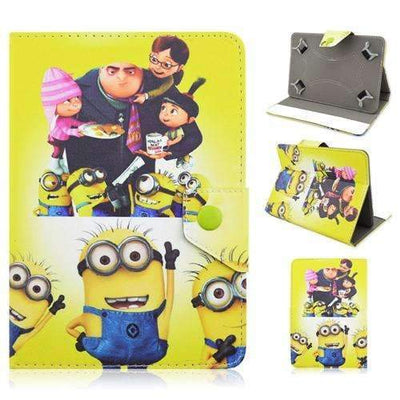 "7.0"" Minions Universal PU Leather Stand Cover Case for Tablet PC, Universal Cases & Covers - Peeksify.com"