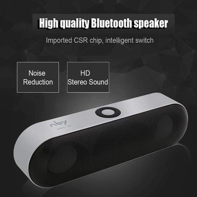 Portable Wireless Mini Bluetooth Speaker Sound System 3D Stereo and Microphone [Supports TF AUX USB] - Peeksify.com