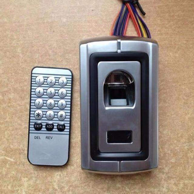F007 Metal Case Anti-Vandal Biometric Fingerprint Access Control - Peeksify.com