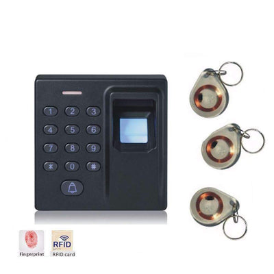 Newest D1 Fingerprint Access Control System+Password Keypad+125KHZ ID Card Access [FREE 10 Keys] - Peeksify.com