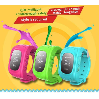 Q50 GPS Tracker Smart Kid Safe SOS Call SmartWatch [Russian Version] - Peeksify.com