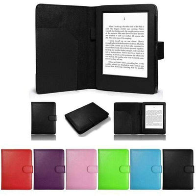 Luxury Folio PU Leather 360 Flip Full Protective Cover Case for Amazon Kindle Touch 7 Generation, Amazon Kindle Cases & Covers - Peeksify.com