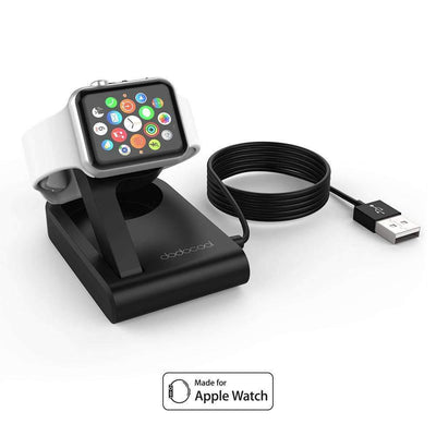 Foldable Magnetic Charging Dock Holder Stand with Integrated Certified USB Cable for Apple Watch, Apple Watch Charge Stations - Peeksify.com
