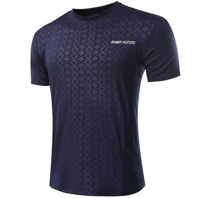 Short Sleeve Fitness Compression Quick Dry T-Shirt for Men - Peeksify.com