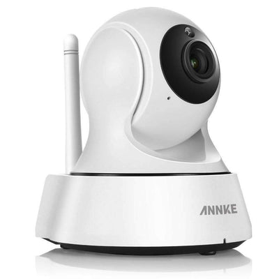 HD Wireless Security IP Camera IR-Cut Night Vision Audio Recording for Indoor Home Surveillance, Security Cameras - Peeksify.com