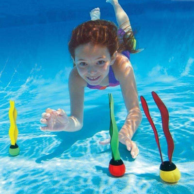 Kids Swimming Pool Diving Playing Plant Form Sticks, Pool Toys & Accesories - Peeksify.com