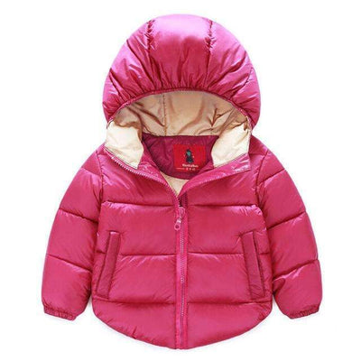 Winter Warm Hooded Padded Thick Outerwear Jacket for Girls - Peeksify.com