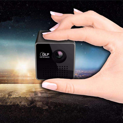 NEW! Full HD 1080P 3D Home Theater Portable Mini LED Pico Projector [Support TF/USB Video Playback], LED Mini Projectors - Peeksify.com