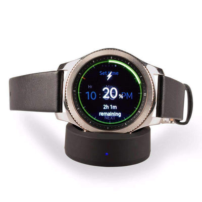 Qi Wireless Charging Dock for Samsung Gear S3 Classic / Frontier or Gear S2 Watches - Peeksify.com