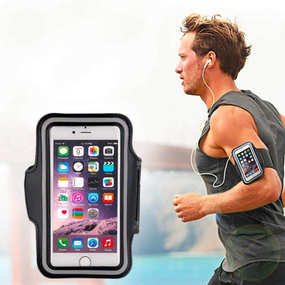 Sports Fitness Armband Pouch Holder Compatible with iPhone 6, 6s, Samsung Galaxy S6, S6 Edge - Peeksify.com