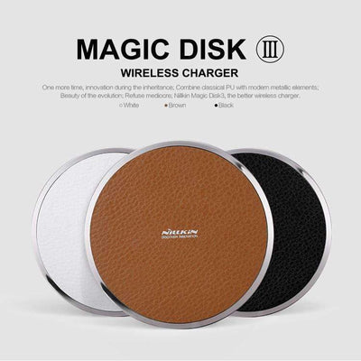 MagicDisk III Qi Wireless Charger, Wireless Chargers - Peeksify.com