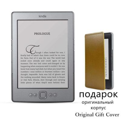 "Kindle 4  eBook e-Ink 6"" Display Electronic 2GB Reader + Free Cover [Refurbished Great Condition], eBook Readers - Peeksify.com"
