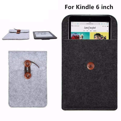 "6.0"" Fashion Wool Felt Cover Case for Amazon Kindle Paperwhite/Voyage - Peeksify.com"