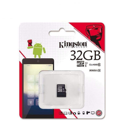 Kingston 8GB Class4 & 16GB/32GB/64GB/128GB Class10 SDHC SDXC Micro SD Card, Micro SD Cards - Peeksify.com