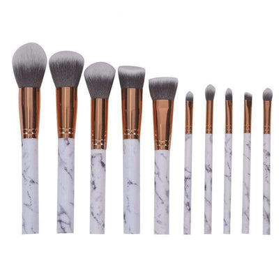 10Pcs Makeup Brushes Set - Peeksify.com