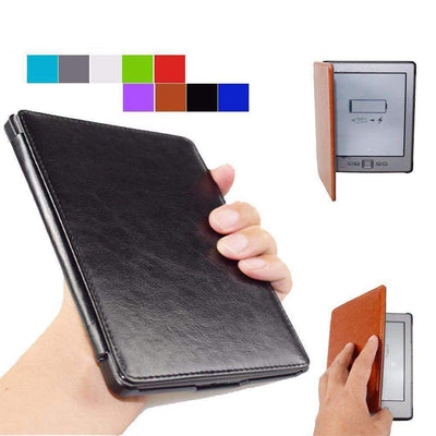High Quality Leather Cover Case for Amazon Kindle 4/5 [No fit Touch] - Peeksify.com