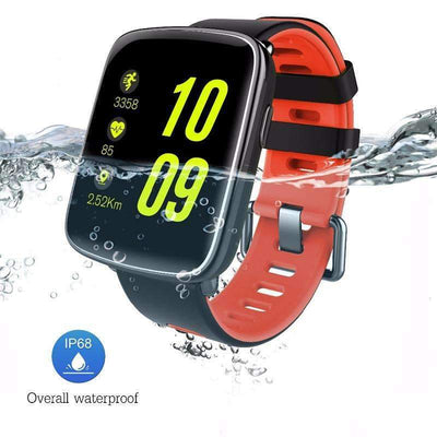GV68 IP68 Waterproof Sports Bluetooth Heart Rate Monitor Remote Control Camera Smartwatch, Smart Watches - Peeksify.com