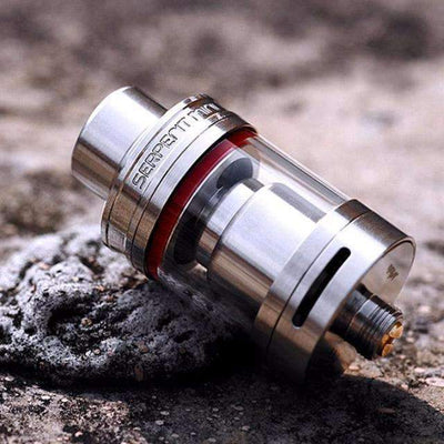 Original Serpent Mini RTA Tank Single Coil Build Deck Dual Adjustable Airflow 3ml Capacity Atomizer, Electronic Cigarette Accesories - Peeksify.com