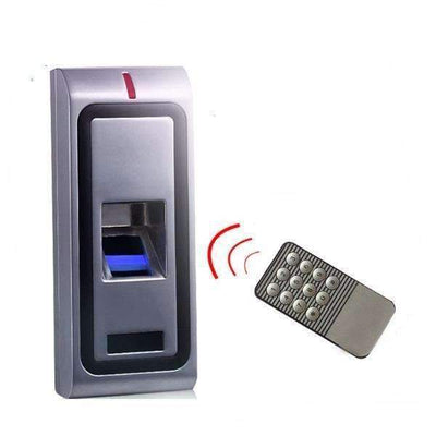 Biometric Fingerprint Access Control System RFID 125kHz Standalone Metal Case Door Lock [500 Users] - Peeksify.com
