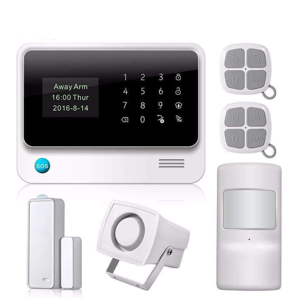 Security Alarm Nice Yobang Security Gsm Wireless Voice Home Security Alarm System Smoke Detector Russia Spain France And Ltaly Language Pir Sensor.