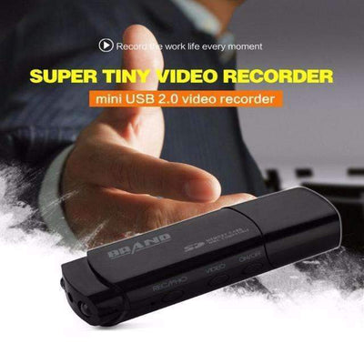 120 Degress Lens HD Video & Voice Recorder with Motion Detection & Night Vision Mini Spy Camera - Peeksify.com