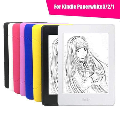 Ultra Slim Soft TPU Silicone Light Weight Back Cover Case for Amazon Kindle Paperwhite 1/2/3 - Peeksify.com