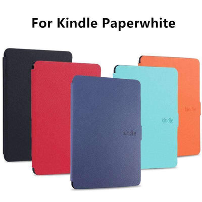 "6.0"" Slim Fashion Leather Cover for Amazon Kindle Paperwhite 1/2/3, Amazon Kindle Cases & Covers - Peeksify.com"