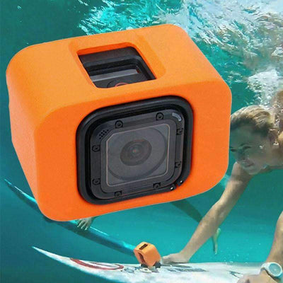 Soft  Floating Orange Case for GoPro Hero - Peeksify.com
