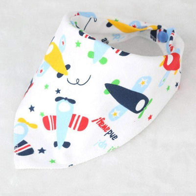 Cool Triagle Cotton Bandana Bib for Baby Boys - Peeksify.com