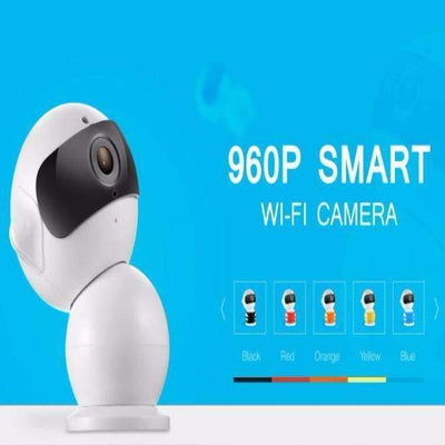 Robot IP 960P WiFi 2-Way Audio CCTV Security Camera & Baby Monitor - Peeksify.com