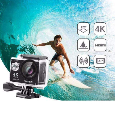 EK7000 4K WiFi Outdoor Camera Ultra HD Waterproof Video Sports Camera, Sports Action Cameras - Peeksify.com