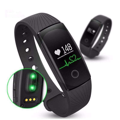 ID107 Bluetooth Fitness Heart Rate Monitor Smart Band Activity Tracker [iOS & Android Available] - Peeksify.com