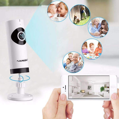 Mini Wireless WiFi Surveillance Camera with 2-Way Audio Baby Monitor - Peeksify.com
