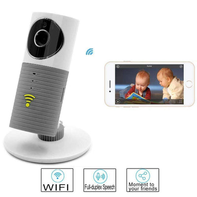 Mini IP WiFi Camera with Motion Detection & Night Vision Smart Home Camera & Baby Monitor - Peeksify.com