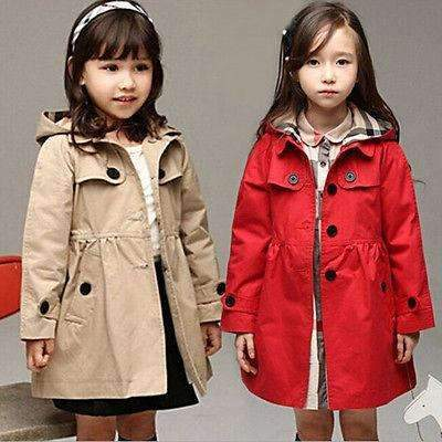 Winter Warm Windbreaker Hooded Outwear Coat for Girls - Peeksify.com