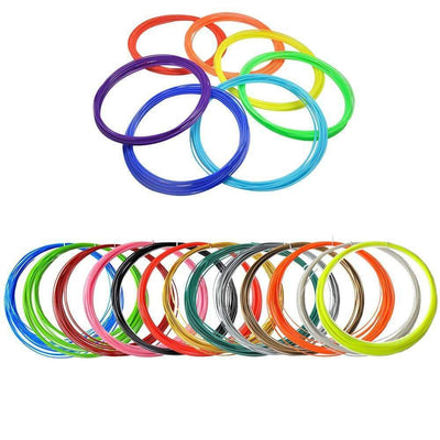 1PCS 1M-1.75mm ABS Filament Wire for 3D Printer or 3D Pen [26 Colors Available] - Peeksify.com