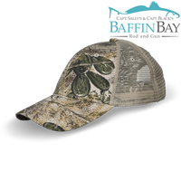 BBRG Logo Cap Camo / Meshback / Camouflage Baffin Bay Rod And Gun Free Shipping