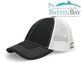 BBRG Logo Cap Caviar / Meshback / Uni-Color Baffin Bay Rod And Gun Free Shipping